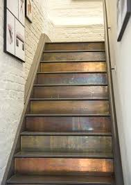 how to finish stairs finish brass cladding in wrapped or veneered