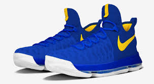 nikeid kd 9 warriors sole collector
