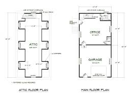 library floor plan and elevation cottage plans