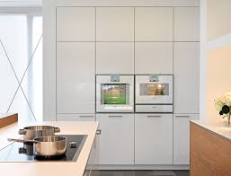 Hochschrank K He Leicht Hat Für Einen Neubau Eine Wohnküche Entworfen Stylepark