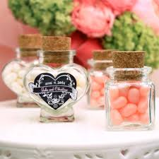 jar party favors heart or square shaped glass favor jars glass and