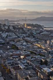 houses of north beach and russian hill in bird u0027s eye view