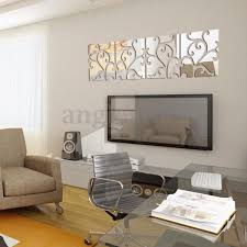 Mirror Wall Decals And Wall by 32pcs 3d Vine Mirror Wall Stickers Art Acrylic Tile Decal Home