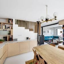 salon cuisine ouverte cuisine ouverte sur la salle à manger 50 idées gagnantes côté maison