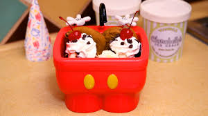 Shareable Kitchen Sink Sundae Now On More Menus At Walt Disney - Kitchen sink ice cream sundae