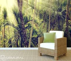 in a wild jungle forest wallpaper mural photo wallpapers demural in a wild jungle