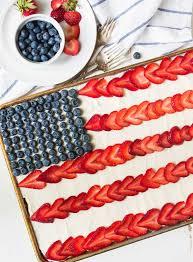 Miss Me American Flag Flag Cake