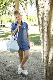 32 beautiful denim dress to inspire your daily fashion