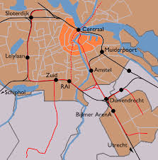 Amsterdam Metro Map by File Amsterdam Train Map Png Wikimedia Commons