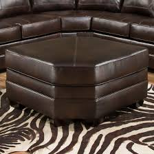 Furniture Wedge by Simmons Upholstery 9222 Oversized Wedge Cocktail Ottoman Dunk