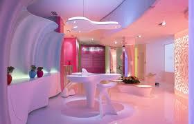 trend decoration futuristic island home design living room for