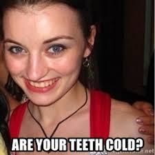 Little Girl Meme Teeth - girl meme teeth