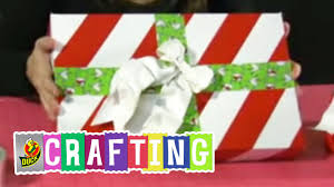 How To Craft A Duct Tape Christmas Gift Box Youtube