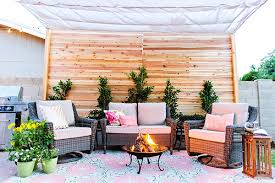 Covered Patios Designs Before And After Covered Backyard Patio Design