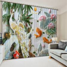 discount peacock window curtains 2017 peacock window curtains on