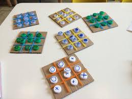 diy indoor games festa del papà il gioco del tris giochiamo insieme matematica
