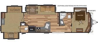 Fifth Wheel Floor Plans Front Living Room Retreat
