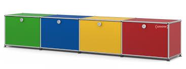 Esszimmerst Le Yellow Usm Haller Kinder Lowboard Bunt Von Fritz Haller U0026 Paul Schärer