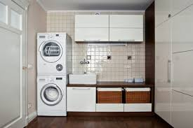 Kitchen And Laundry Design Laundry Room Interior With A Of Washing Machines