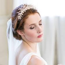 bridal tiara flower pearl bridal tiara by millesime