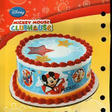 amazon com mickey mouse designer prints edible cake image
