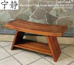 Teak Bathroom Furniture Tandea Teak Shower Stoolteak Bath Bench Stool Broyhill