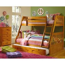Cambridge Stanford Twin Over Full Bunk Bed With Twin Slideout - Twin over full bunk bed with slide
