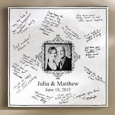 personalized wedding autograph frame personalized signature wedding canvas 16x16 walmart