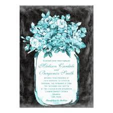 Chalkboard Wedding Programs Mason Jar Wedding Invitations Rustic Country Wedding Invitations