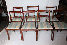 Antique Regency Dining Chairs Regency Antique Chairs 1900 1950 Ebay