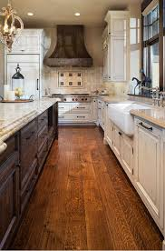 Antique White Kitchen Cabinets by Best 20 White Distressed Cabinets Ideas On Pinterest Country