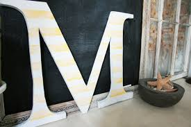 handmade wooden letters a simpler edition the handmade home