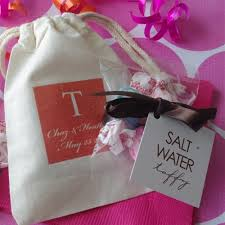 salt water taffy wedding favor monogram salt water taffy wedding favors