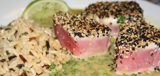 comment cuisiner le thon recettes de thon frais recettes allrecipes québec