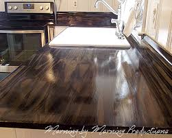 diy kitchen countertop ideas a lovely alternative the in the way this wood counter top