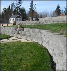 rockeries retaining walls block walls eglon landscaping
