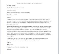 bunch ideas of example of complaint letter to bank for resume