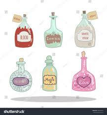 zombie halloween invitations halloween decoration bottle jar pink hearts stock vector 309786524