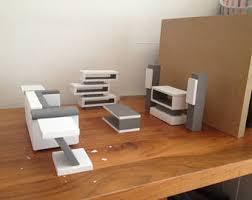 Dollhouse Modern Furniture by Modern Dollhouse Etsy