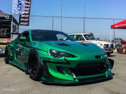 nissan frs custom 9 cars from overseas that wear the color green like a dream
