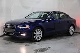 audi a4 used 2013 used audi a4 4dr sedan automatic quattro 2 0t premium plus at