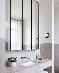 bathroom mirror ideas for a small bathroom endearing best 25 bathroom mirror cabinet ideas on large