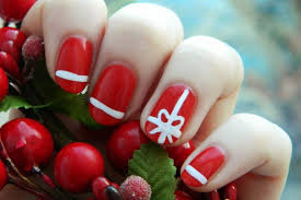 gel nails christmas designs how you can do it at home pictures