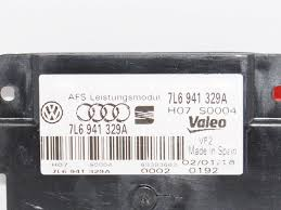 new oem genuine audi vw seat valeo afs headlight cornering module