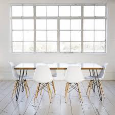 iroko midcentury modern hairpin leg dining table by biggs u0026 quail