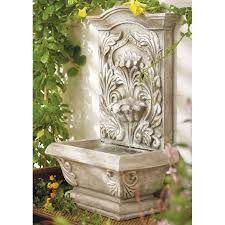 most important consideration when choosing wall garden fountains