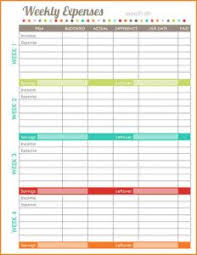 wedding budget template template business