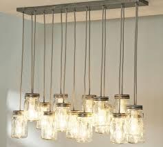 barn pendant light fixtures exeter 16 jar chandelier pottery barn