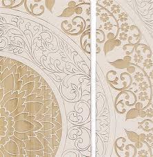 mandala global bazaar white wood wall mural kathy kuo home