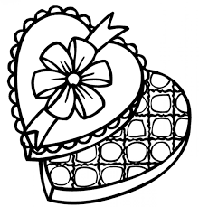 chocolate coloring page 539397